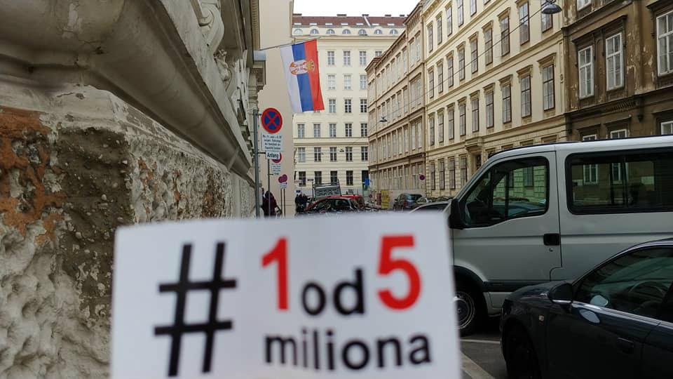 Pokret Jedan od pet miliona: Opozicija se ne sme oslanjati samo na posrednike iz EU