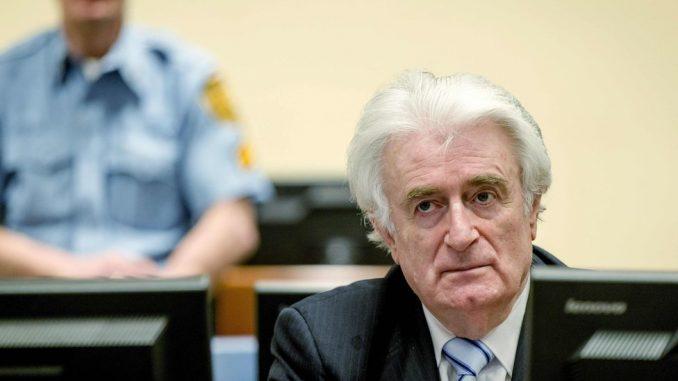 Ratni zločini i Balkan: Radovan Karadžić će služiti kaznu doživotnog zatvora u Velikoj Britaniji 2