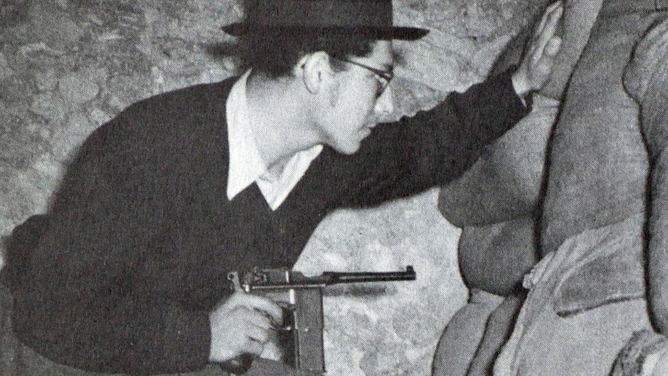 Pripadnik organizacije Hagana - jevrejskog podzemlja
