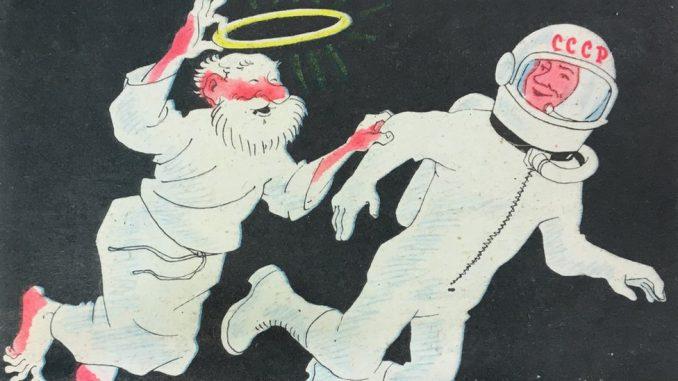 """Istorija i religija: """"Bezbožna utopija"""" - kako su se u Sovjetskom Savezu plakatima borili protiv religije 3"""