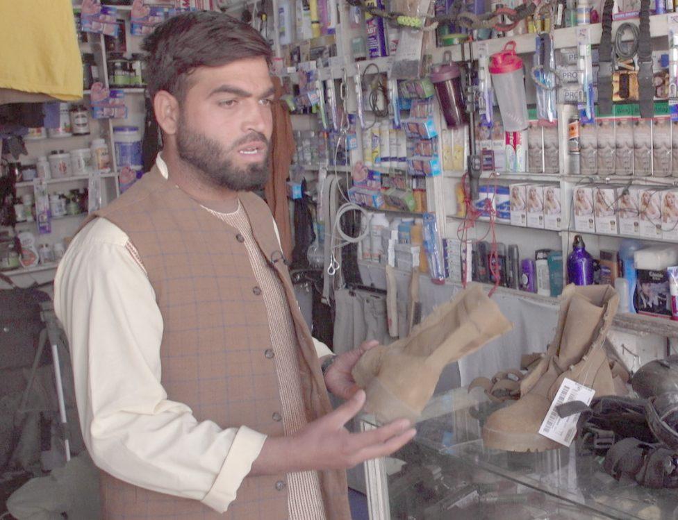 Bagram shopkeeper Malik, 3 October 2020