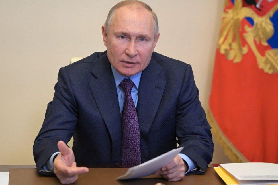 President Putin, 15 Apr 21