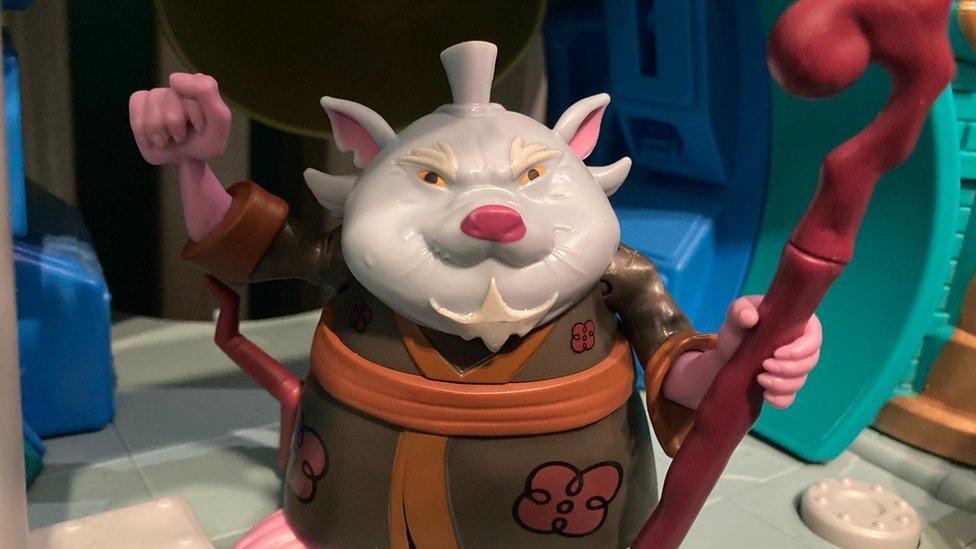 Splinter je pacov i učitelj borilačkih veština