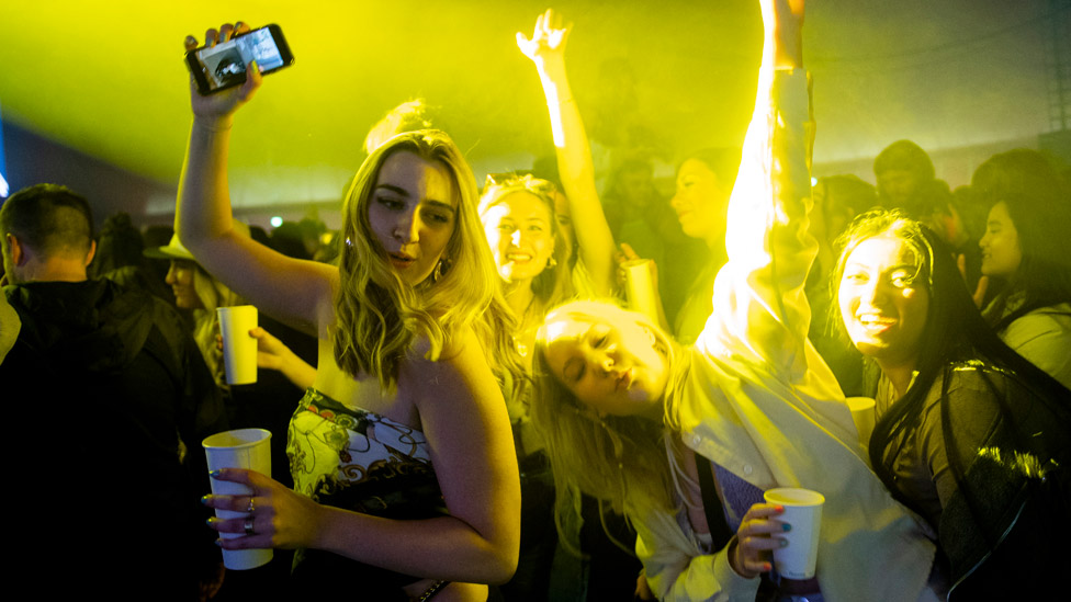 Fans at Sefton Park gig in Liverpool