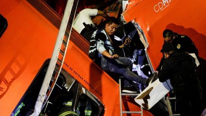 Meksiko i saobraćaj: Najmanje 23 putnika stradala u nesreći u metrou u Meksiko Sitiju 3