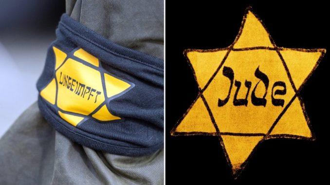 Korona virus, Nemačka i protesti: Pozivi za zabranu nošenja Davidove zvezde na demonstracijama 4