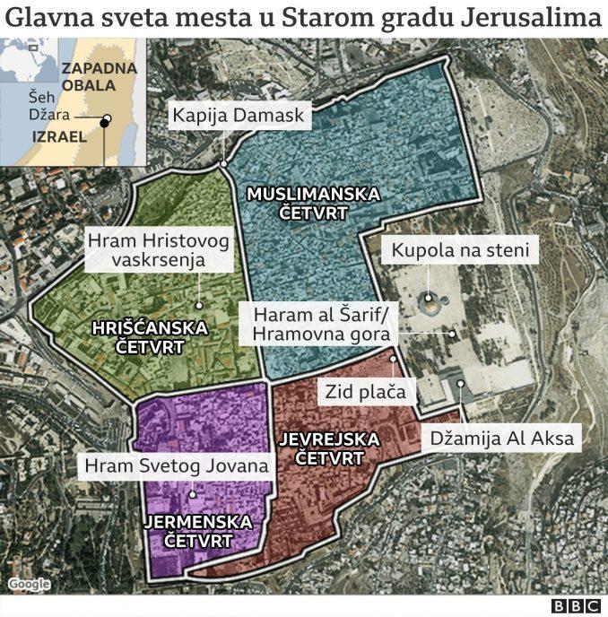 Izrael, Palestina i nasilje: Smrtonosni vazdušni napad na Gazu posle raketnog napada na Jerusalim 5