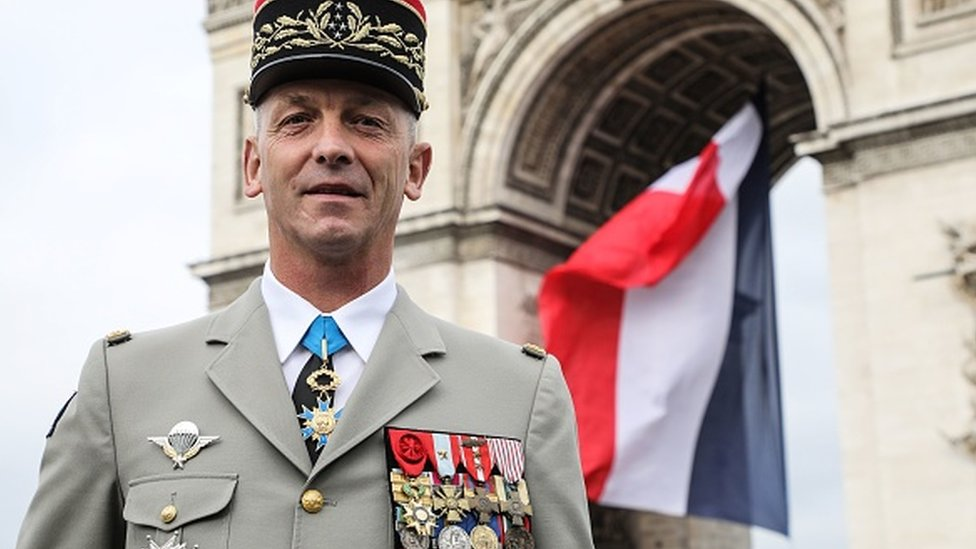 French armies chief of staff general François Lecointre