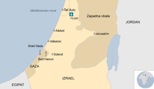 Izrael, Palestina i nasilje: Više od 50 mrtvih, UN strahuju od opšteg rata, vanredno stanje u gradu Lodu posle velikih nereda 20