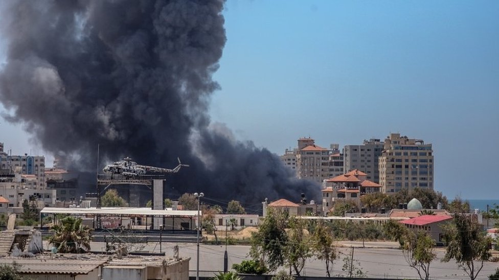 Airstrike in Gaza
