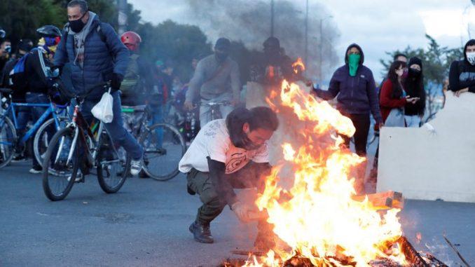 Opšte nezadovoljstvo na ulicama Kolumbije 3