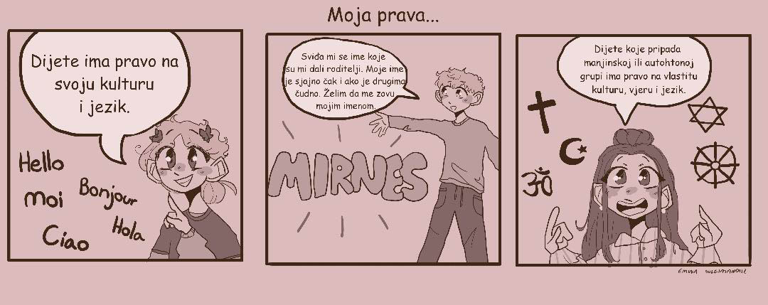 Deca poreklom iz Srbije i BiH napravila strip 2