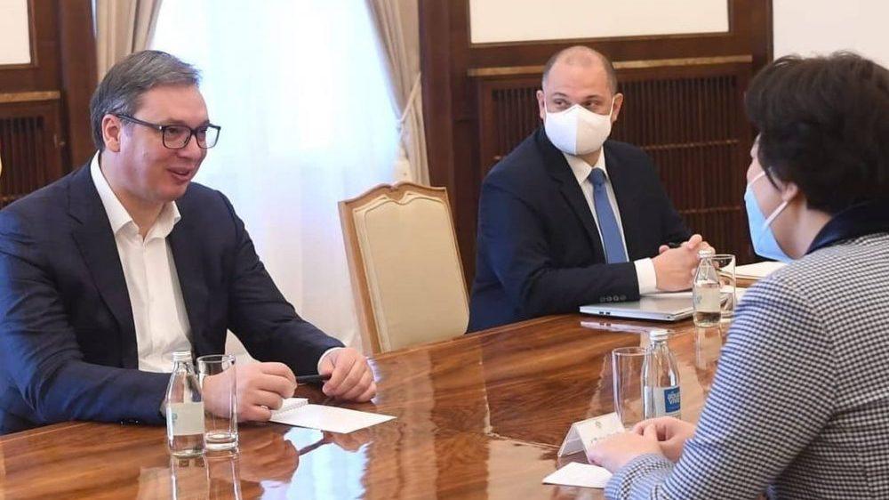 Vučić i Čen Bo o postojećim i novim infrastrukturnim projektima 1