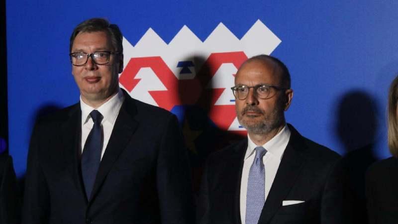 Vučić i Fabrici: Evropa i Srbija računaju jedna na drugu