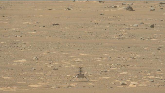 Snimljeni zvuci Nasinog helikoptera na Marsu (VIDEO) 2