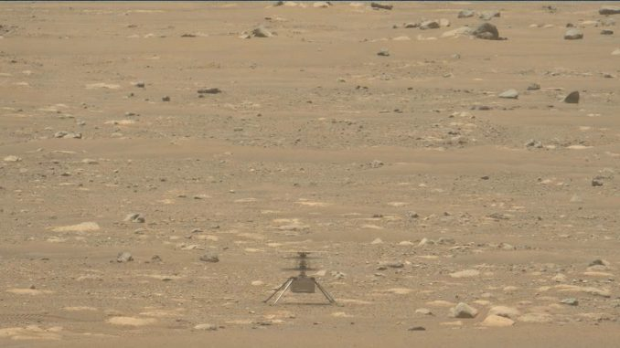 Snimljeni zvuci Nasinog helikoptera na Marsu (VIDEO) 5