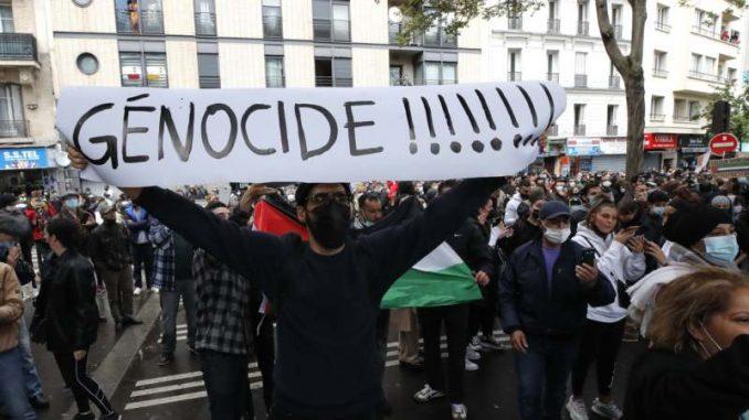 U Francuskoj više od 50 privedenih sa skupova podrške Palestincima 5