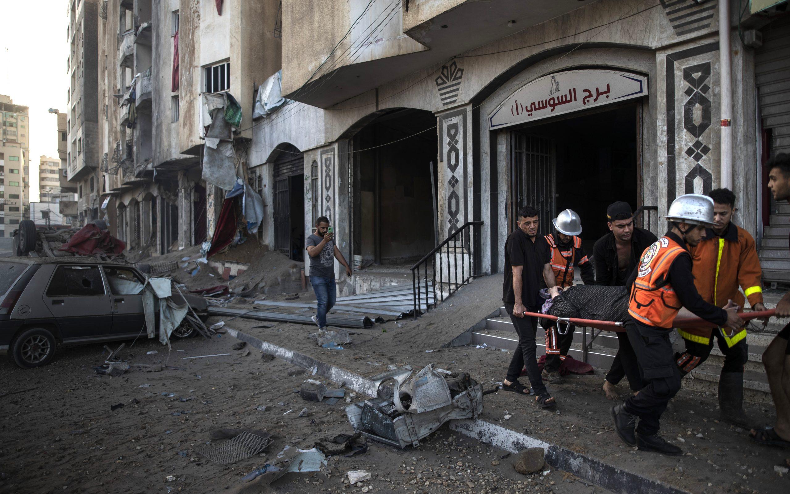 Izraelski borbeni avioni srušili najveću višespratnicu u gradu Gazi, Palestina raketirala Tel Aviv i Beršebu 1