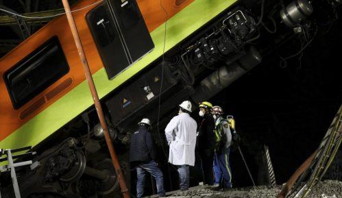 Novi bilans nesreće na liniji metroa u Meksiku: 23 poginula i 70 povređenih 2