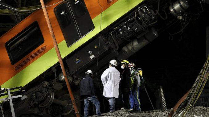 Novi bilans nesreće na liniji metroa u Meksiku: 23 poginula i 70 povređenih 1
