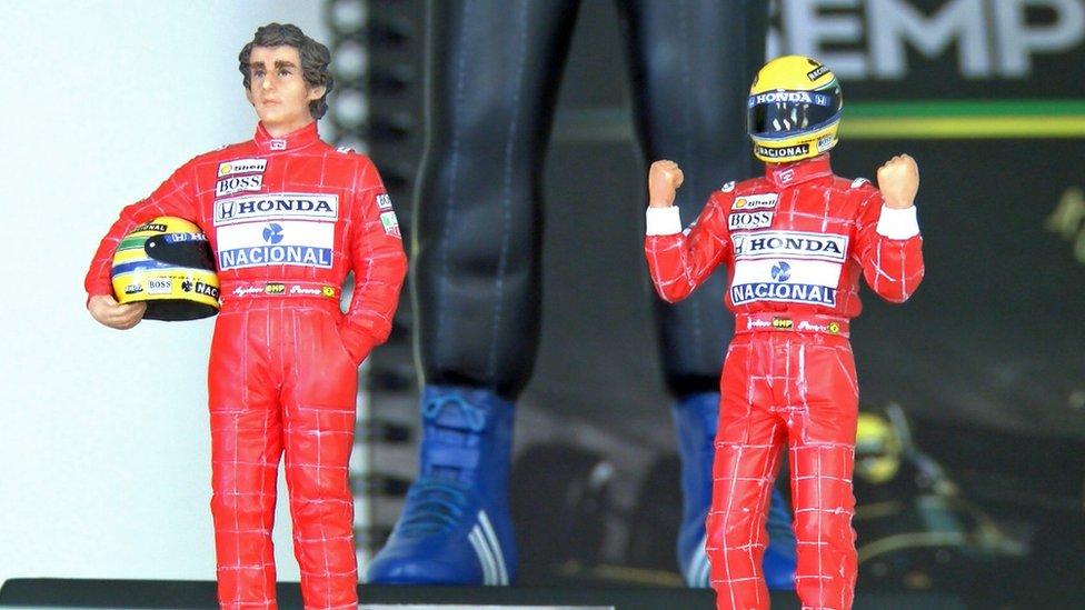 Ayrton Senna action figures
