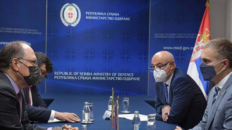 Stefanović izrazio saučešće ambasadoru Meksika