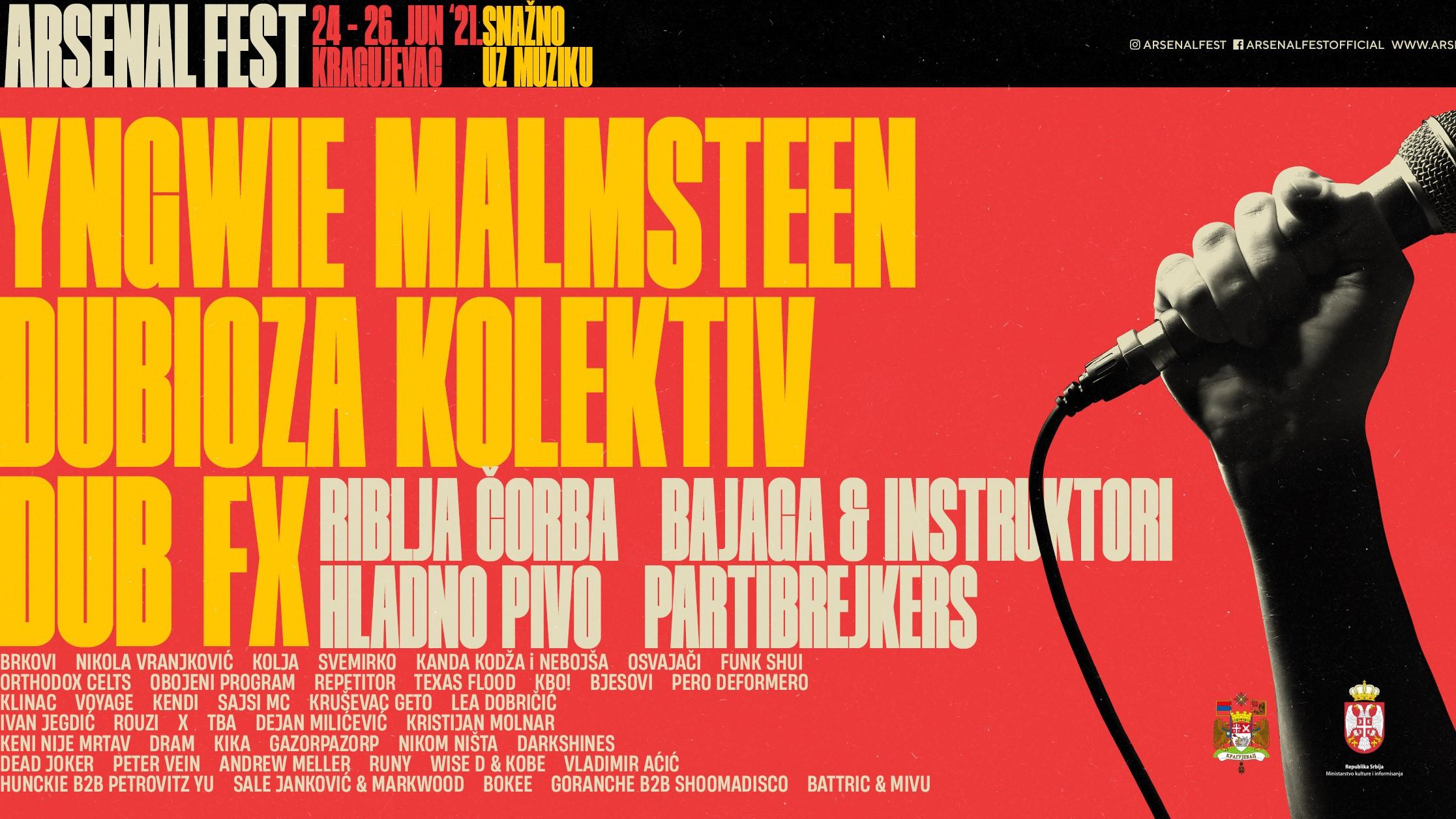 Arsenal Fest 11 od 24. do 26. juna u Kragujevcu 1