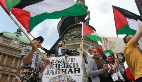 Skup Palestinaca u Beogradu s porukom: Sloboda za Palestinu 3