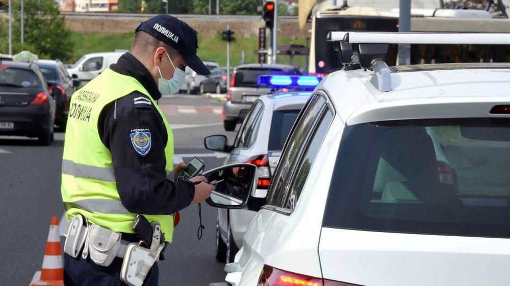 MUP: Pojačana kontrola saobraćaja od 16. do 22. juna 1