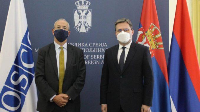 Ministar spoljnih poslova Srbije: Dobra i otvorena komunikacija sa Misijom OEBS na Kosovu 3
