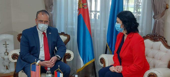 Američki ambasador otvorio laboratoriju za genetiku na Medicinskom fakultetu u Nišu 3