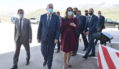 Premijer Crne Gore i predsednica Republike Srpske ozvaničili ukidanje putarine na putu HN-Trebinje 3