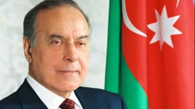 Posvećeno 98. godišnjici rođenja nacionalnog lidera azerbejdžanskog naroda Hejdara Alijeva 1
