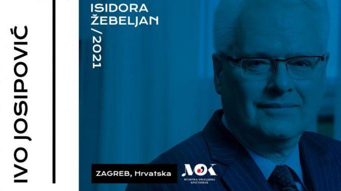 Ivo Jospović u žiriju takmičenja koje nosi ime Isidore Žebeljan 3