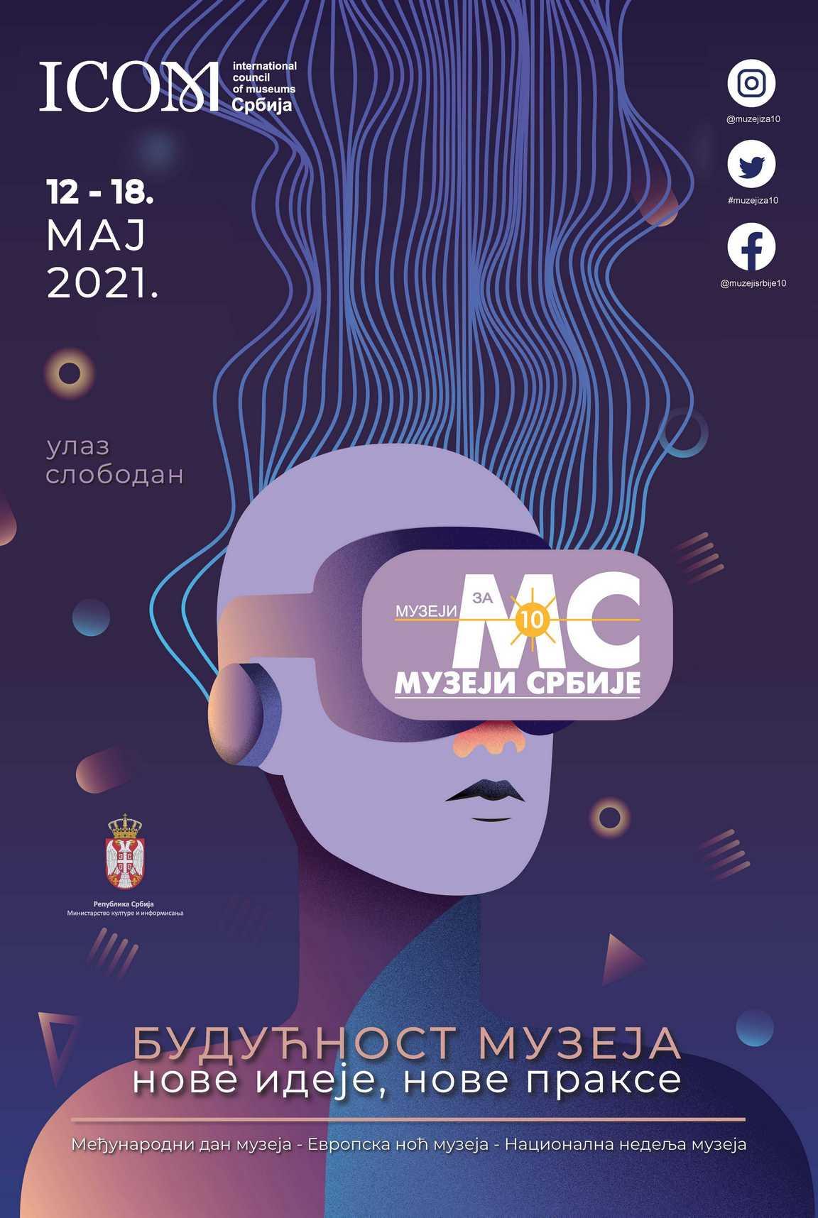 """Manifestacija """"Muzeji za 10"""" i Evropska noć muzeja u Narodnom muzeju u Zrenjaninu od 12. do 18. maja 2"""