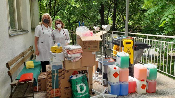 """Dečjem odeljenju bolnice u Negotinu Udruženje """"Za Negotin"""" iz Beča doniralo vrednu opremu 5"""