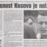 Nekada Miloševićev osuđenik, danas premijer Kosova 9