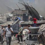 U izraelskim udarima na Gazu srušena šestospratnica, gađane kuće komandira Hamasa 12
