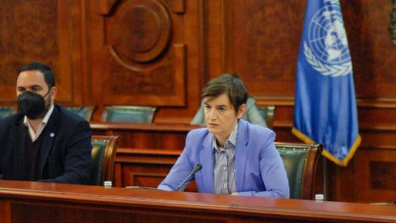 Brnabić sa Fransin Pikap: Demografski problem veliki izazov za Srbiju 1