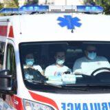 Nesreća u Skojevskom naselju u Beogradu, oboren motociklista 10