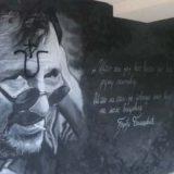 Ustaškim obeležjem oskrnavljen mural posvećen Đorđu Balaševiću na Limanu (VIDEO) 4