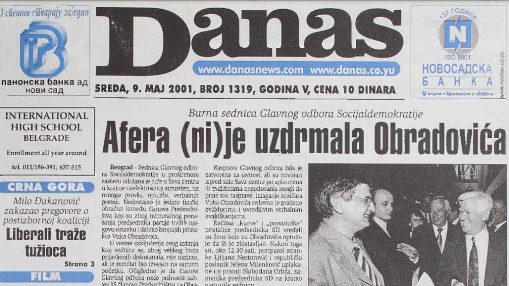 Kako je obeležen prvi Dan Evrope u Srbiji pre 20 godina 1