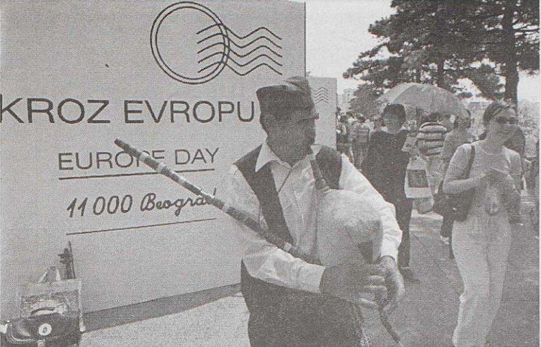 Kako je obeležen prvi Dan Evrope u Srbiji pre 20 godina 2