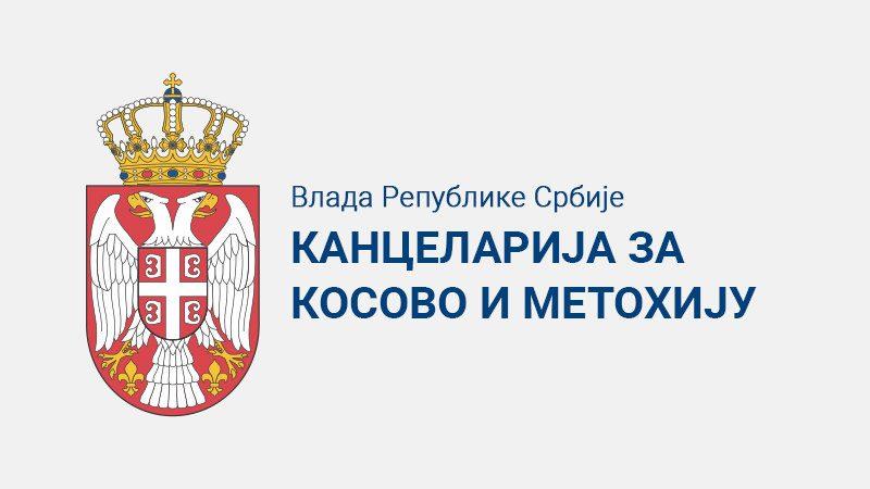 Kancelarija za KiM: Grafit UČK u opštini Klokot ima za cilj da otera Srbe sa svojih ognjišta 1