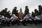 Putin na vojnoj paradi čestitao Dan pobede nad fašizmom (FOTO) 5