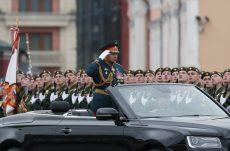 Putin na vojnoj paradi čestitao Dan pobede nad fašizmom (FOTO) 8