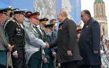 Putin na vojnoj paradi čestitao Dan pobede nad fašizmom (FOTO) 67