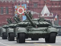 Putin na vojnoj paradi čestitao Dan pobede nad fašizmom (FOTO) 65