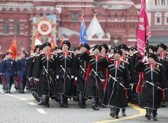 Putin na vojnoj paradi čestitao Dan pobede nad fašizmom (FOTO) 60