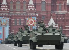 Putin na vojnoj paradi čestitao Dan pobede nad fašizmom (FOTO) 39